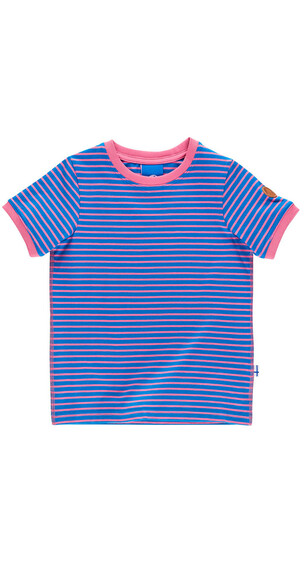 Finkid Renkaat Shortsleeve Shirt Kids french/bonbon